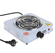 Настольная электрическая плитка на 1 конфорку спираль 1000 Вт Rainberg RB555