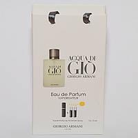 Giorgio Armani Acqua di Gio мини парфюмерия в подарочной упаковке 3х15ml (реплика), фото 1