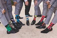 Высокие мужские носки Капитан Америка, фото 2