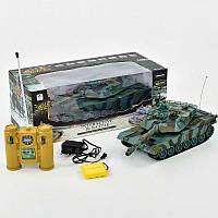 """Танк на радиоуправлении 99804 """"Abrams MI A2"""" звук, свет, 4,8V, акум, в коробке"""