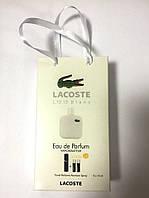 Мини парфюмерия мужская Lacoste Eau de Lacoste L.12.12 Blanc в подарочной упаковке 3х15 ml  (реплика)