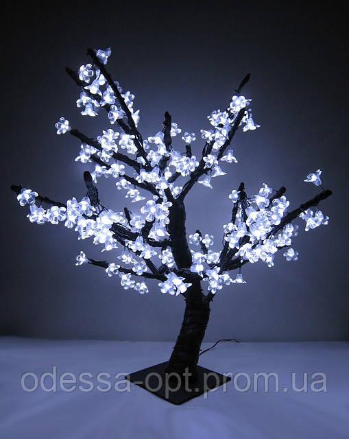 Дерево «сакура» LED-196 белое (80 см. )