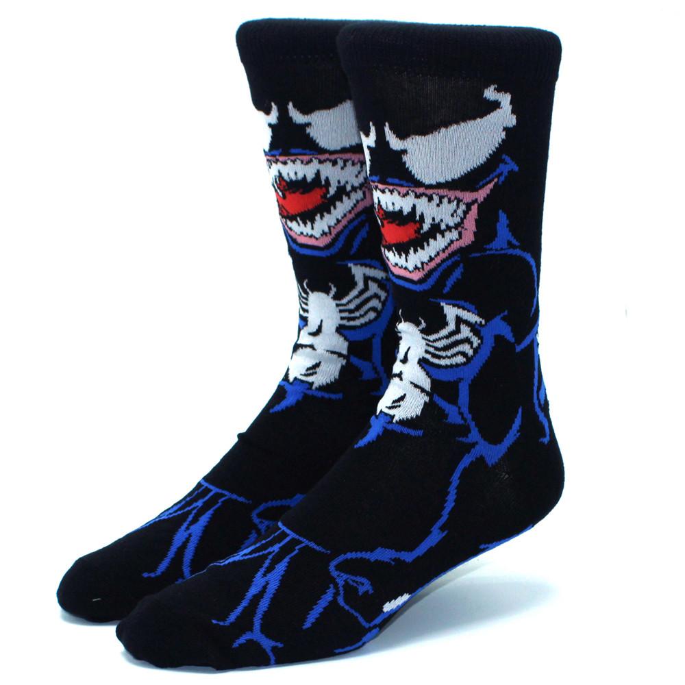 Высокие мужские носки Веном