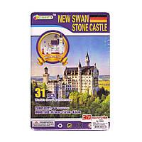 "Пазлы 3Д ""New swan stoun castle"", 8,5 см, фото 1"