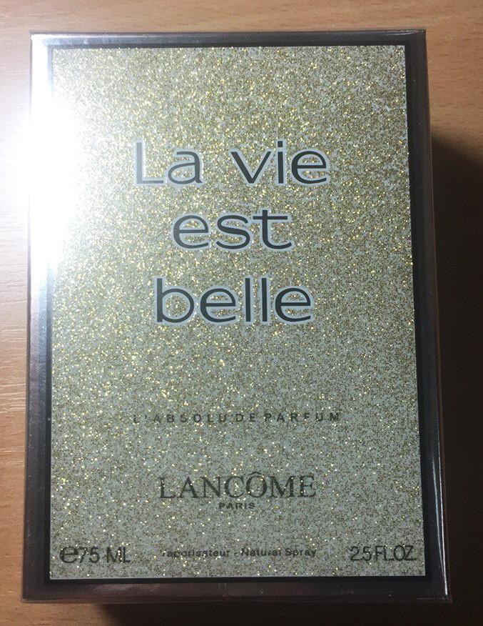 Женская парфюмированная вода La Vie Est Belle L'Absolu De Parfum Lancome (реплика)