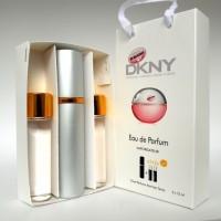 DKNY Donna Karan Be Delicious Fresh Blossom мини парфюмерия в подарочной упаковке 3х15ml  (реплика)