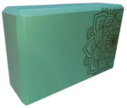Блок для йоги, растяжки (TS 1698) Серый, фото 3