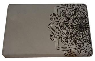 Блок для йоги, растяжки (TS 1698) Серый, фото 2