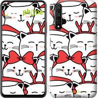 "Чехол на Huawei Honor 20 Милый кот ""4717u-1697-535"""