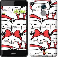 "Чехол на Huawei Honor 6C Pro Милый кот ""4717c-1358-535"""