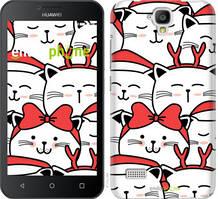 "Чехол на Huawei Ascend Y5 DS/Y560 Милый кот ""4717u-340-535"""