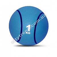 Медбол (мяч медицинский) 1 кг, d-19,5 см
