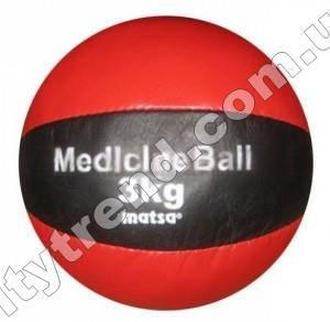 Медбол (мяч медицинский) Matsa 3 кг, d-18 см