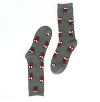 Высокие мужские носки Человек Паук, фото 2