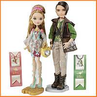 Набор кукол Ever After High Эшлин и Хантер (Hunter & Ashlynn) Базовые Школа Долго и Счастливо