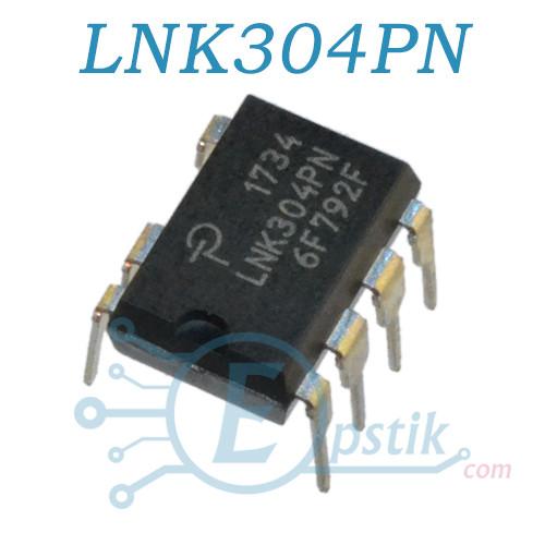LNK304PN, контролер ШІМ харчування, DIP7