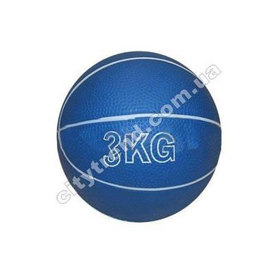 Медбол (мяч медицинский) 3 кг, d-13 см