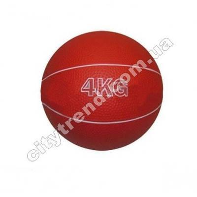 Медбол (мяч медицинский) 4 кг, d-17 см