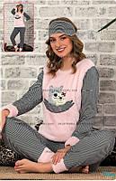 Красивые женские пижамы интерлок + махра