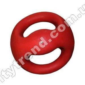 Медбол (мяч медицинский) с рукоятками 7 кг, d-22 см