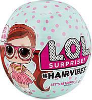 Лялька L. O. L. Surprise Hairvibes 15 Surprises ЛОЛ з париками оригінал MGA, фото 1
