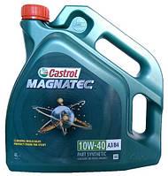 Моторное масло полусинтетика Castrol (Кастрол) Magnatec 10w40 4л