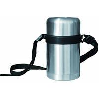 Пищевой термос с ремешком 0,8л Con Brio CB320  , термосы украина