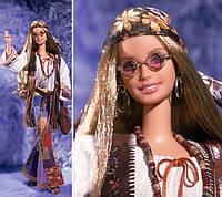 Коллекционная барби 70 х Великая мода Barbie Peace & Love 70's, фото 1