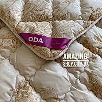 "Одеяло на овчине ""ODA"" Размер 155*210 см   Ковдра вовняна . Стеганое полуторное одеяло."