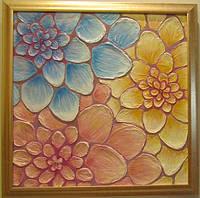 """Картины для интерьера """"Цветы в солнечный день"""""""