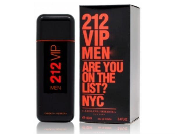 Carolina Herrera 212 VIP Man Are You On The List чоловіча туалетна вода (репліка)
