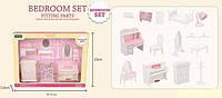 Т 01 Набор мебели для спальни Счастливая семья, в коробке
