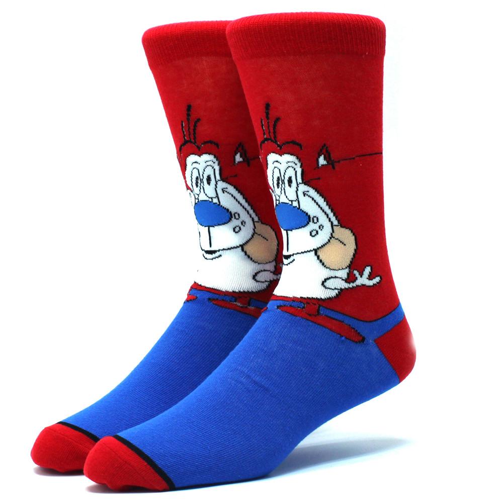 Мультяшные высокие мужские носки Новая жизнь Рокко