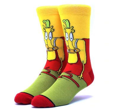 Мультяшные высокие мужские носки Хеффер Вулф