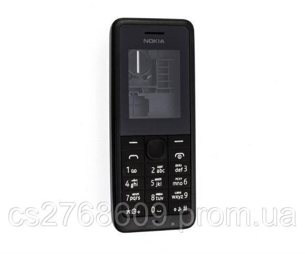 "Корпус ""High Copy"" Nokia 106 (black) + клав Full"