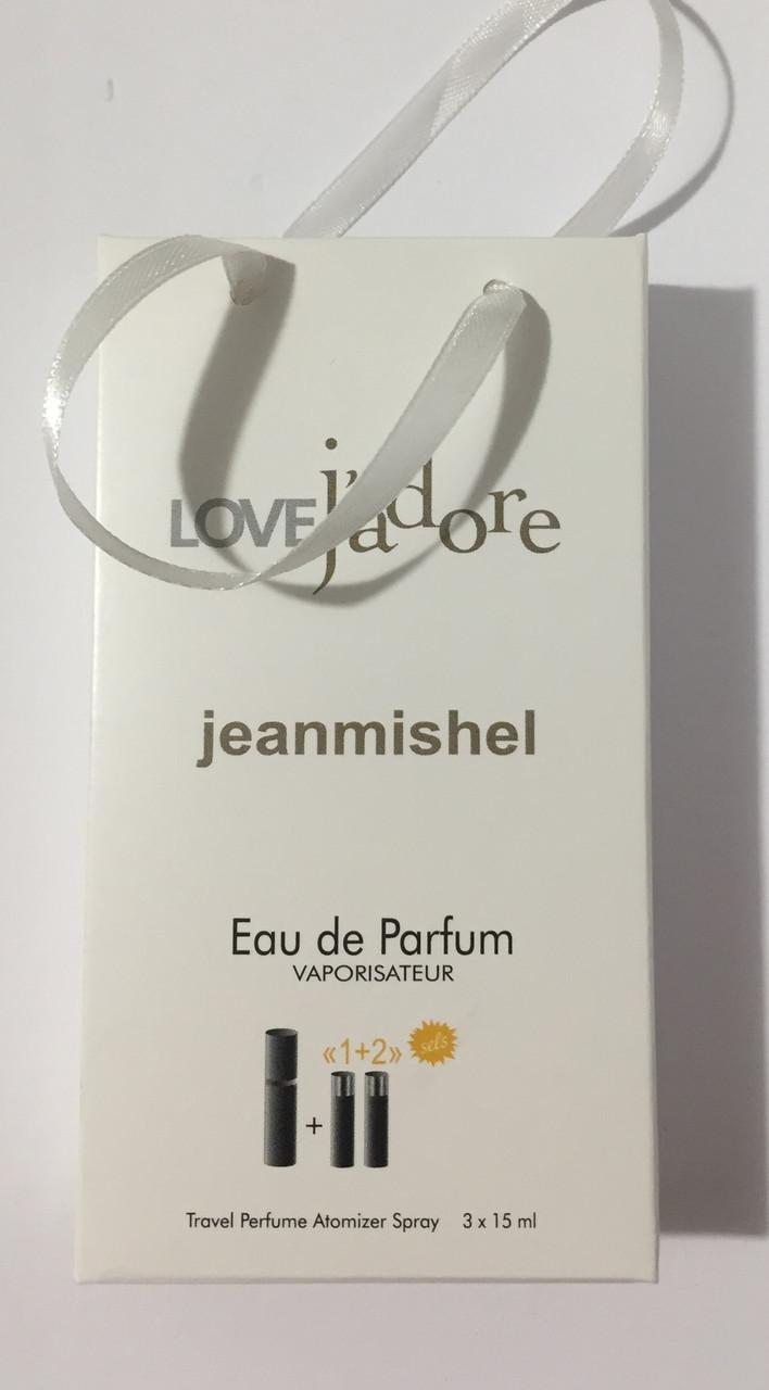 Мини парфюм в подарочной упаковке jeanmishel loveJadore 45мл