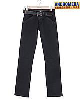 Джинсы мужские из плотного стрейтч-джинса.