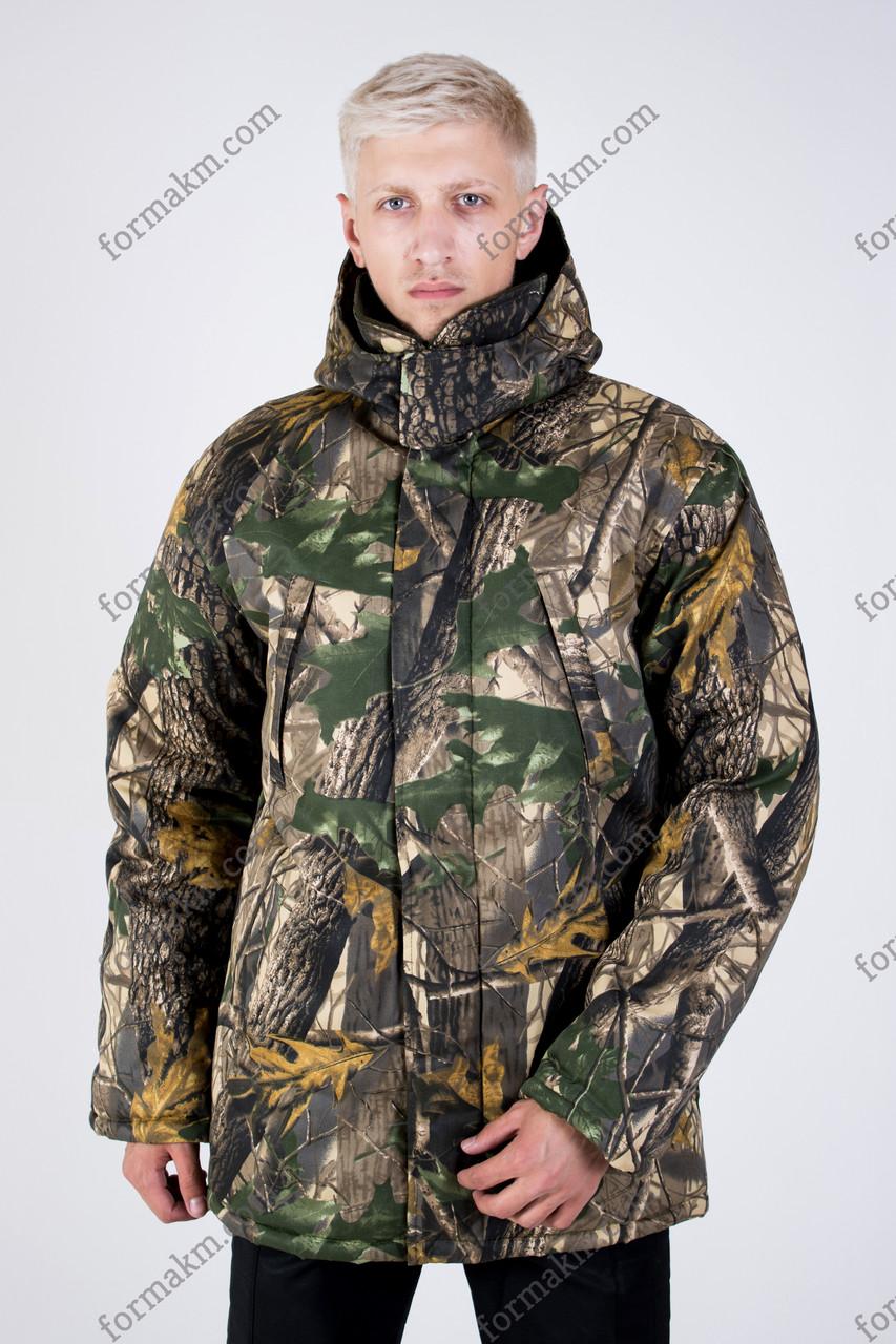 Куртка, Бушлат Камуфляжный Зимний Светлый Клен