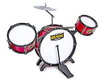 Барабанная установка интерактивная музыкальная игрушка Jazz Drum 6624-5