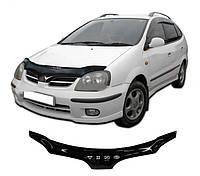 Дефлектор капота  Nissan Almera Tino с 2000-2006,  Мухобойка  Nissan Almera Tino