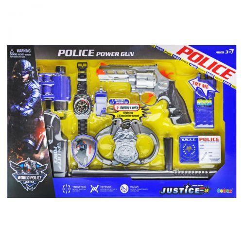Детский полицейский набор  scs
