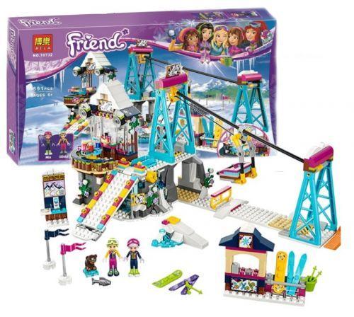 """Конструктор Лего """"Friend: горнолыжный курорт"""" 10732 sct"""