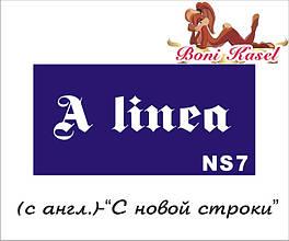 """""""С новой строки"""" трафаретная надпись №-NS7"""