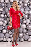 Платье женское Modus Бонни SLIM велюр 6018