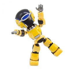 Робот-повторюха, интерактивный (желтый)  sco