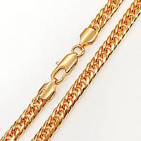 Цепочка Xuping Jewelry 60 см х 6 мм Кобра медицинское золото, позолота 18К А/В 4682