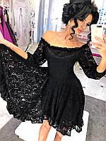 Гипюровое платье 177 (42-46)