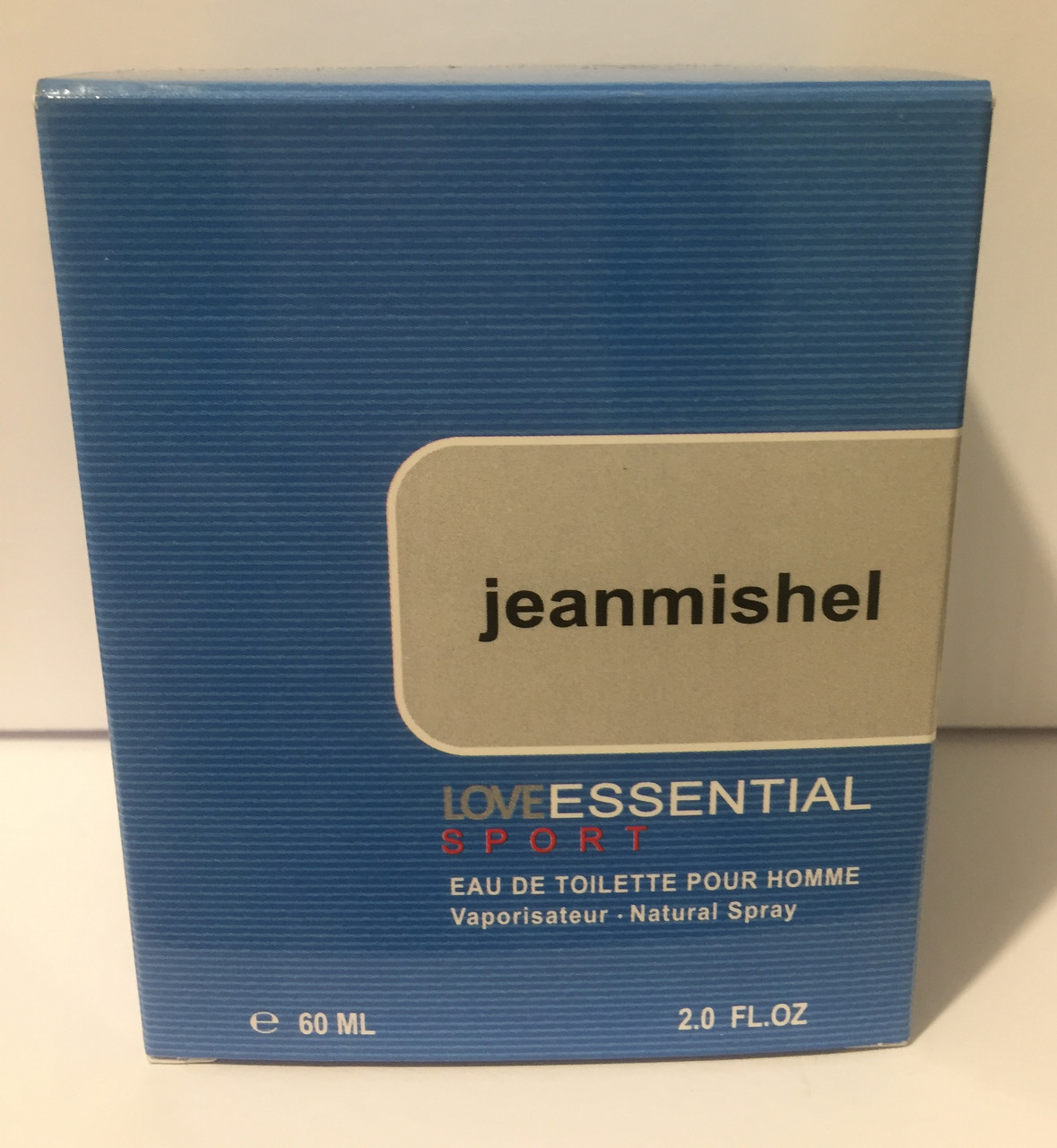 Тестер в подарочной упаковке jeanmishel loveEssential Sport 60 мл