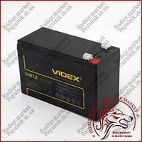 Аккумулятор свинцово-кислотный VIDEX 12V 7.2AH 6FM7.2 LEAD-ACID