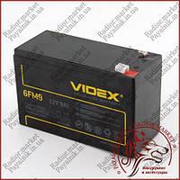 Аккумулятор свинцово-кислотный VIDEX 12V 9AH 6FM9 LEAD-ACID